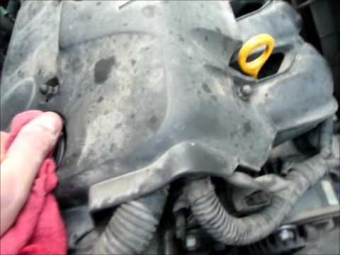 Replacing the A/C Compressor - 2001 Toyota Echo
