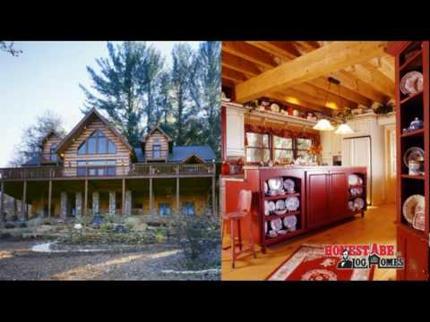 Honest Abe Log Homes - Hand Hewn Logs and Timbers