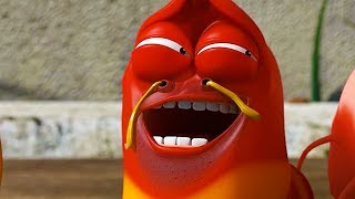 LARVA - RED THE COMEDIAN   Cartoon Movie   Cartoons For Children   Larva Cartoon   LARVA Official