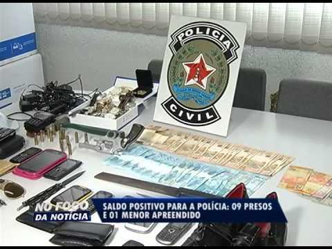 Quadrilha de roubos a ônibus e de carga é presa em Uberlândia - parte 1