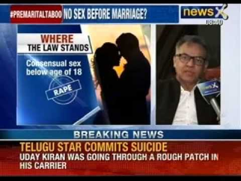 Pre-marital sex is immoral and against every religion says SC judge - NewsX