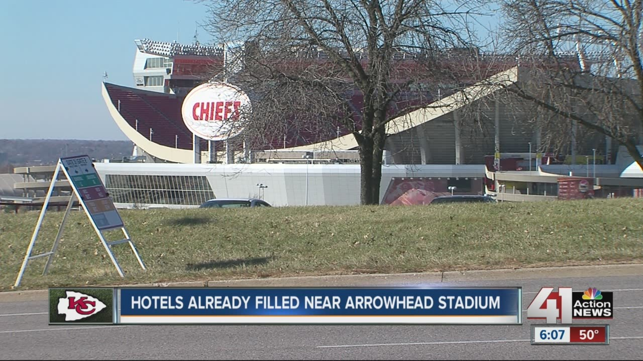 Hotels Near Kansas City Chiefs Arrowhead Stadium