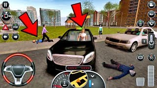 Taxi Sim 2016 #19 - CRAZY DRIVER! Taxi Game Android IOS gameplay #taxigames