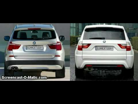 Bmw x3 2011 vs The Old Bmw x3