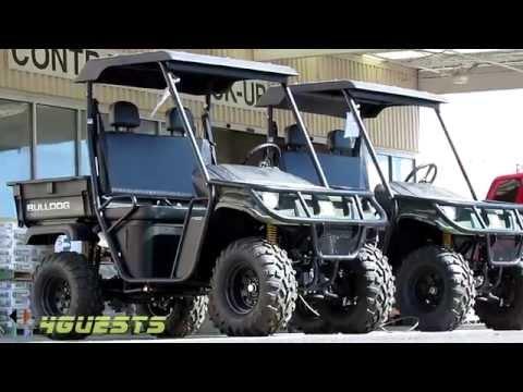 Utility Vehicle (American Sportworks. Bulldog. BD700 4x4) UTV