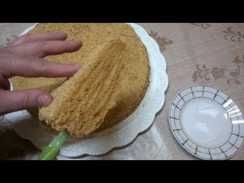 Медовый торт ( Медовик, Рыжик) Старинный лучший Рецепт  МЕДОВИКА   Как приготовить медовый торт