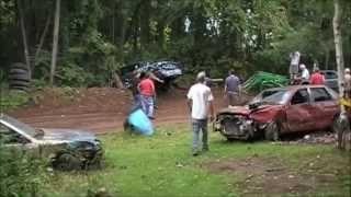 Lot Cars 2 all Girl Pit maneuver race 2014