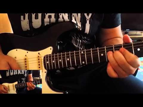 Deep Purple-Highway Star (solo cover)