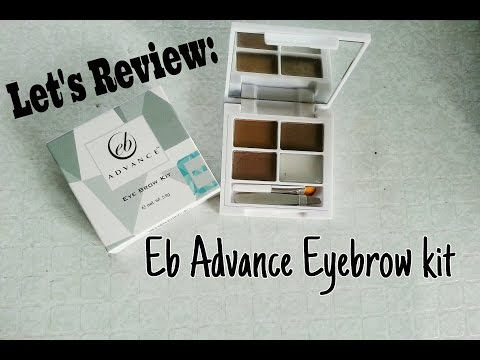 LET'S REVIEW: EB ADVANCE EYEBROW KIT | Cherry Mae