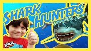Shark Hunters Underwater Counting Game How many can you catch? | Banchi Brothers Not Pokémon Go