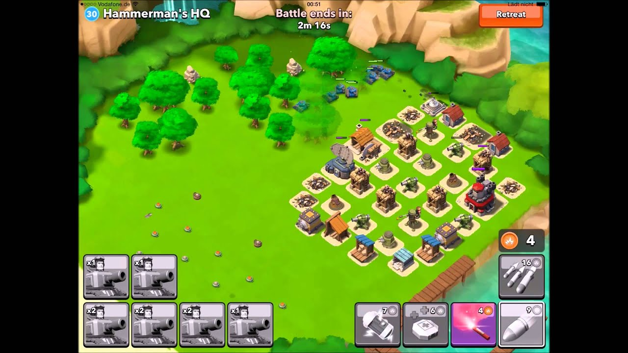 Boom Beach Hammerman S Hq Lvl