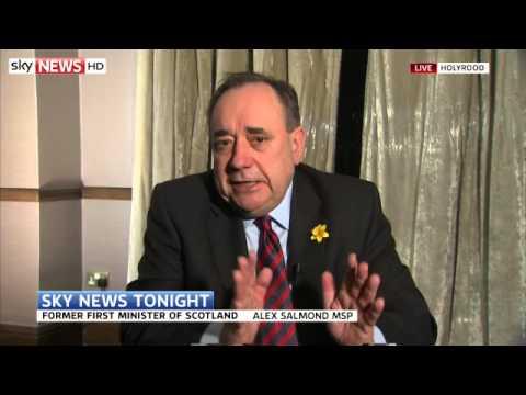 Alex Salmond On Latest Election Polls