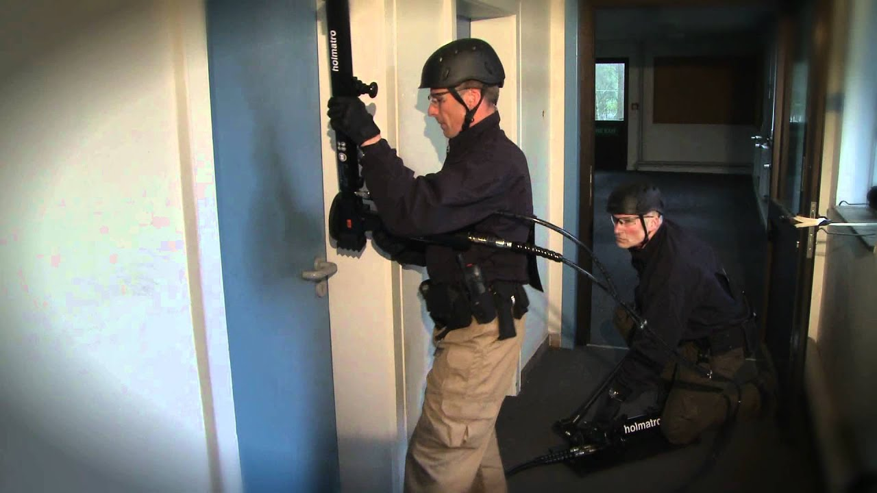 Setting Up Silent Entry With Holmatro Door Opener Hdr 50