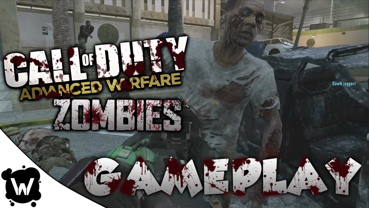 call of duty advanced warfare zombies gameplay riot exo
