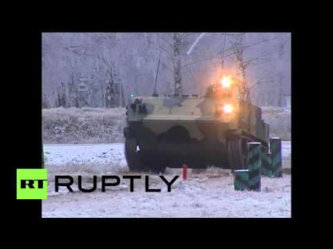 Russia: See all-new airborne Rakushka APC in action