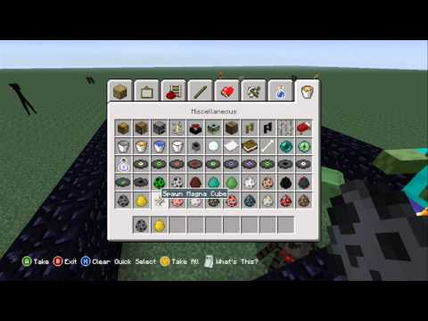 Minecraft Xbox 360 - Title Update #9 - Spawn Eggs.