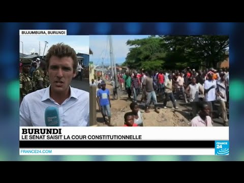 Burundi : les manifestations se poursuivent dans un climat de tension