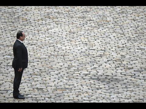 REPLAY - Discours de François Hollande aux Invalides pour l'Hommage national