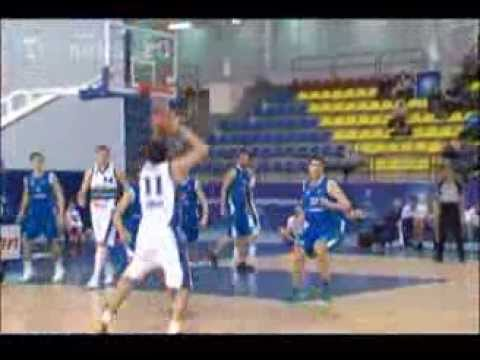 Баскетбольный матч чемпионата
