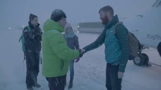 Gudmundur Hangouts - Icelandic Winter in the North - Inspired by Iceland