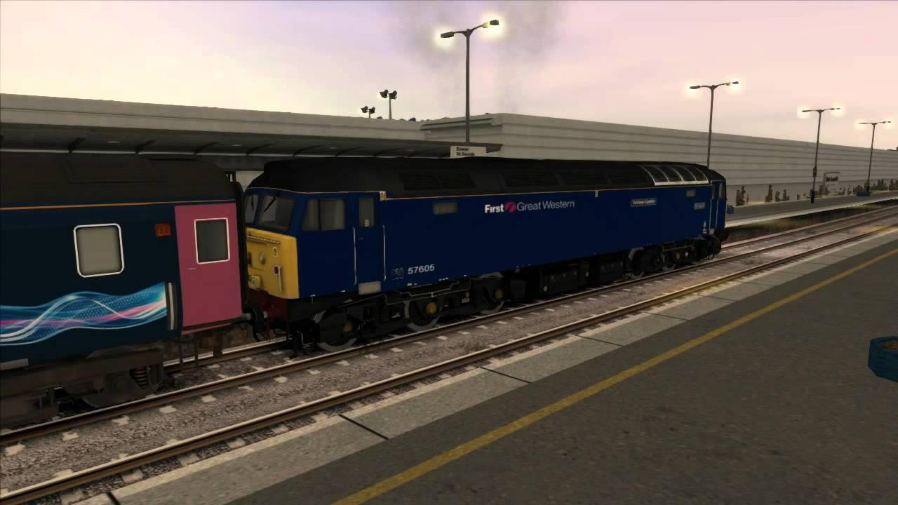 The Night Riviera Class 57