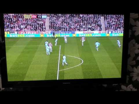 Peter Crouch's Goal vs Man City 24/03/12