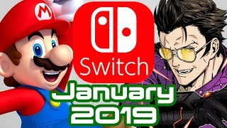 10 Nintendo Switch Games Coming January 2019!