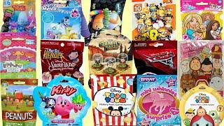 Blind Bags Opening Disney Star Wars Kirby Gravity Falls Toy Surprises Peanuts Trolls Lalaloopsy Kids