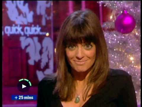 Claudia Winkleman  Swallowing and Carrying On
