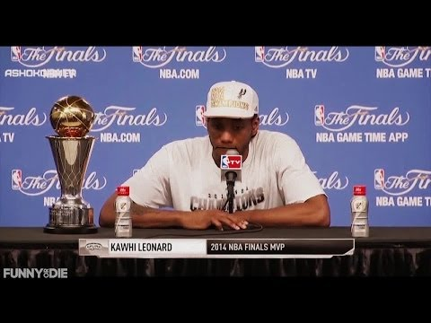 Honest Press Conference: Spurs Win 2014 NBA Championship