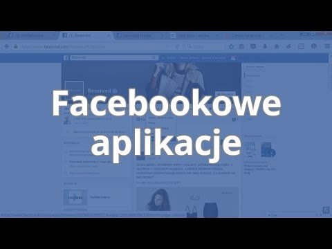 Kurs Facebook Dla Biznesu - Facebookowe Aplikacje