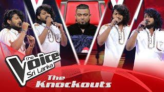 Thilina Sudesh Wanninayake | Sikuruliya The Knockouts | The Voice Sri Lanka