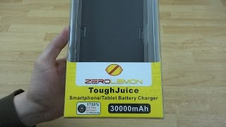 ZeroLemon ToughJuice 30000mAh Double Layer Protection External Battery Backup Charger