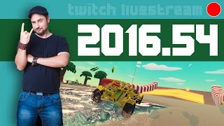 Livestream 2016 #54 - News, Can't Drive This, Lara Croft