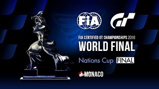 [日本語] FIA-GT選手権 2018 | ネイションズカップ | ワールドファイナル | 決勝