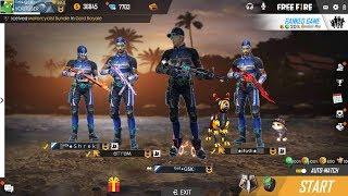 Free Fire New Update 2019 Live (GAME IS NOT OPEN 26th JUNE 2019) #GSK