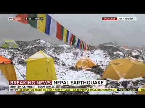 British Climber Speaks From Mount Everest Following Nepal Earthquake