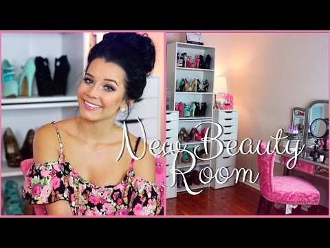 MY NEW PLACE | Beauty Filming Room!