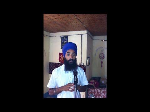 Amanjeet Singh With Harmeet Singh  Discussion on Jammu Kashmir vich Sikhi da parchar