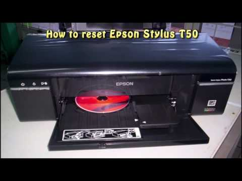 Reset Epson T50 Waste Ink Pad Counter