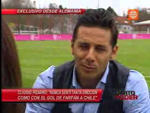 Cuarto Poder-14.04.13-Claudio Pizarro: