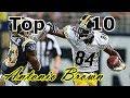 Antonio Brown Top 10 Plays of Career