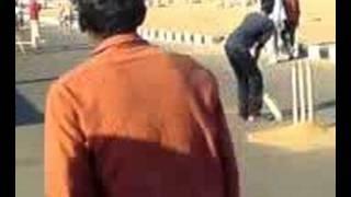 cricket in chennai beach