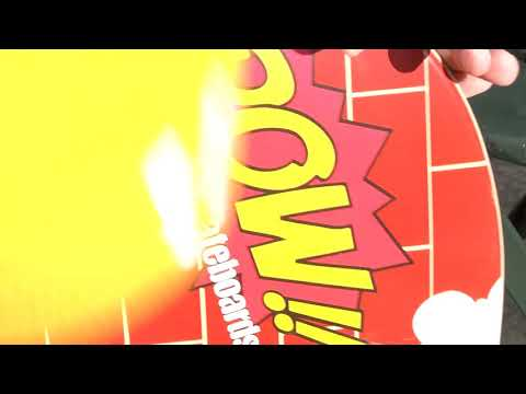 POW!!skateboards x PUFFMEN COLLABORATION COMMERCIAL