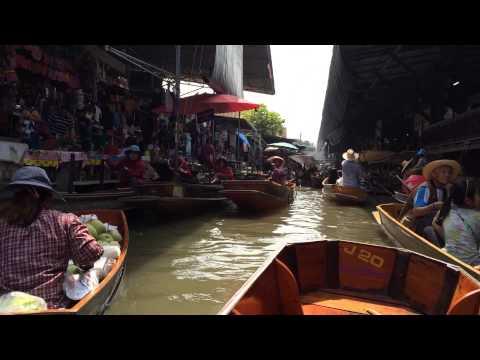 Damnoen Saduak Floating Market – Bangkok, Thailand