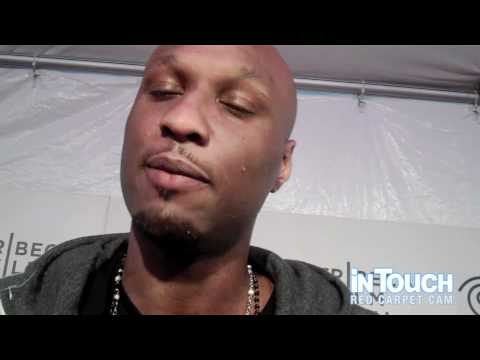 Lamar Odom Tells In Touch About Starting A Family With Khloe At The Tribeca Film Festival In NYC