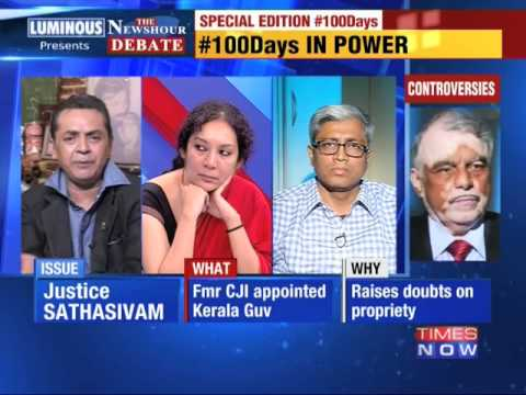 The Newshour Debate: Government's 100 Days report card - Part 3 (2nd September 2014)