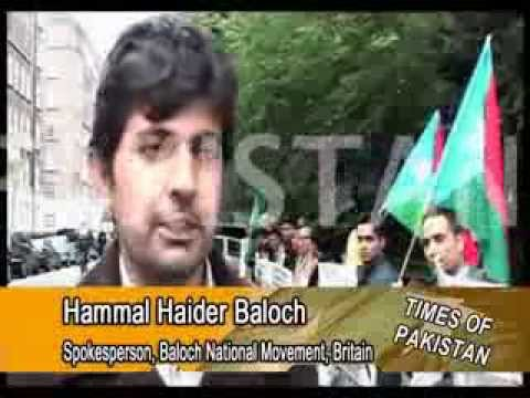 Protest in London against army atrocities in Balochistan