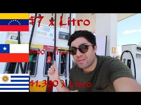 ¿Por qué es tan CARO el COMBUSTIBLE en CHILE?