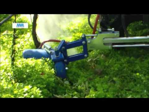 steam weeding machine with boom ( weed control ) diserbo a vapore con barra ECO GP